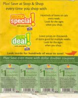 doubler coupons from Stop and Shop