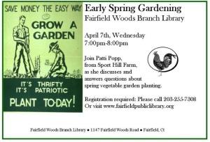 free gardening event