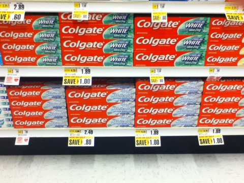price of toothpaste