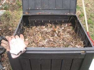 filled bin