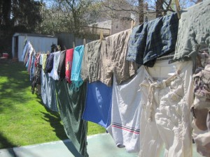Frugal and Green: Consider the Comeback of the Clothesline