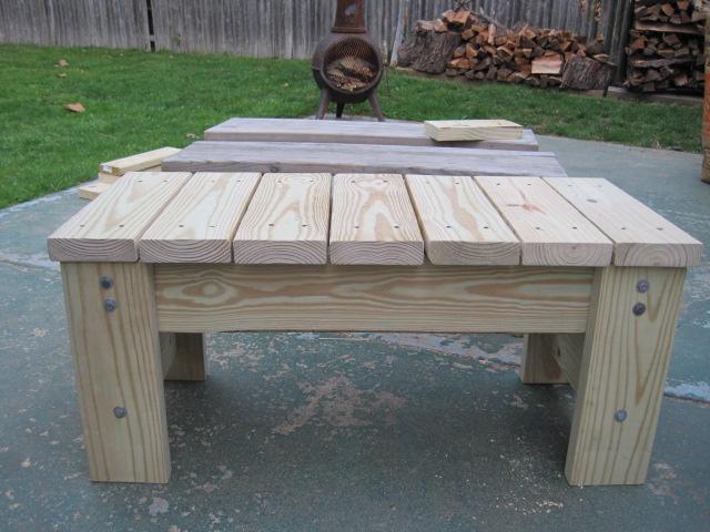 Diy Patio Bench