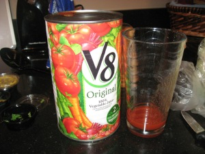 splash of V8