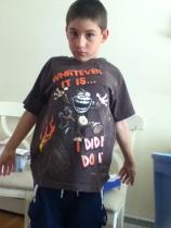 hand-me-down t-shirt