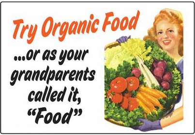 Organic Food - Grandparents