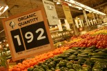 coupons for organic produce available at Whole Foods Market
