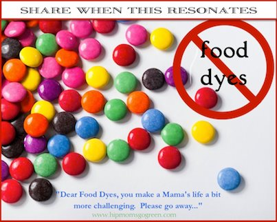 Food Dyes, go away