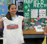 Educating Fairfielders about Single Stream Recycling in April 2012