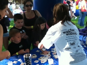 Make a Wish event at Beardsley Zoo 2012