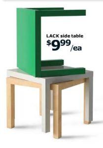 Ikea Lack