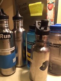 zero waste water bottles
