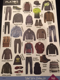 This is what they are currently buying back and selling for men.